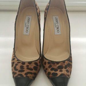 Jimmy Choo Shoes - Jimmy Choo leopard pumps